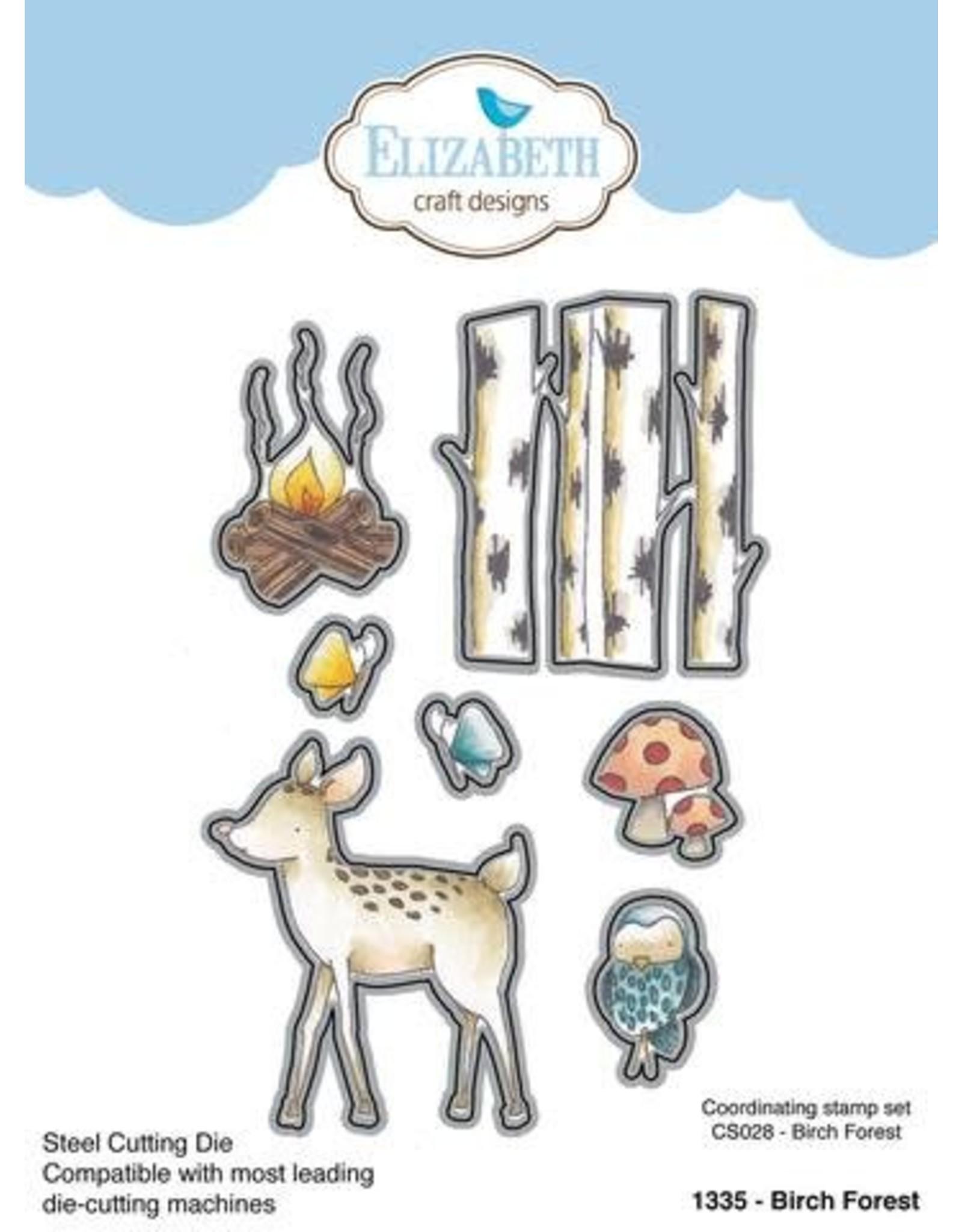 Elizabeth Craft Designs Elizabeth Craft Designs Birch Forest Die 1335