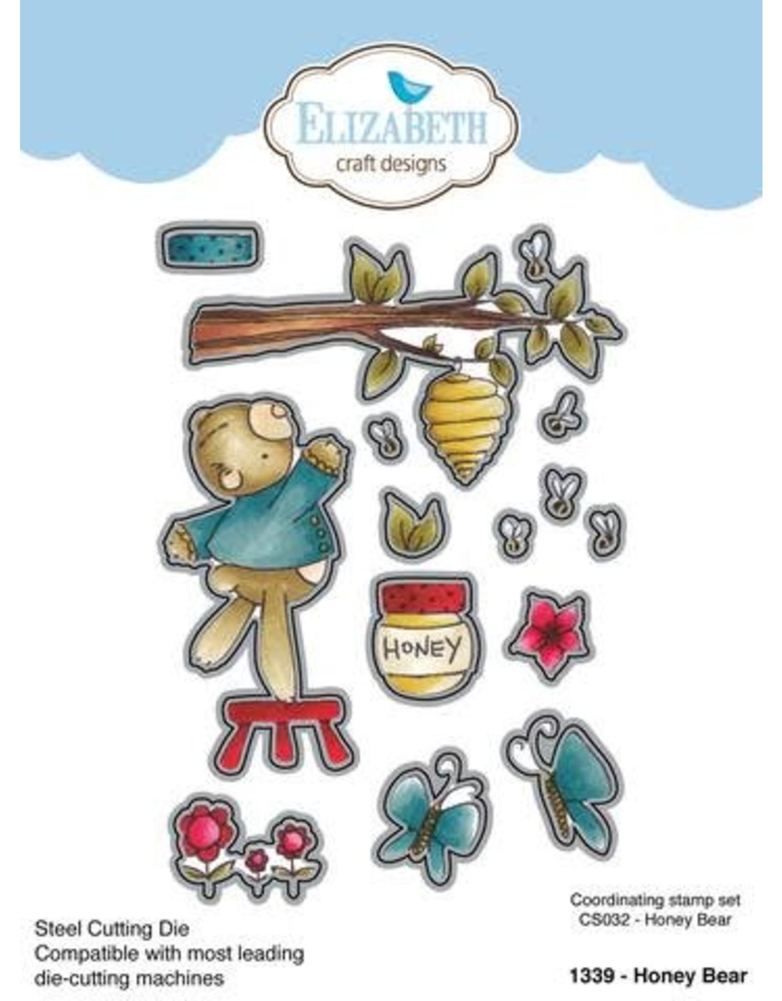 Elizabeth Craft Designs Elizabeth Craft Designs Honey Bear die 1339