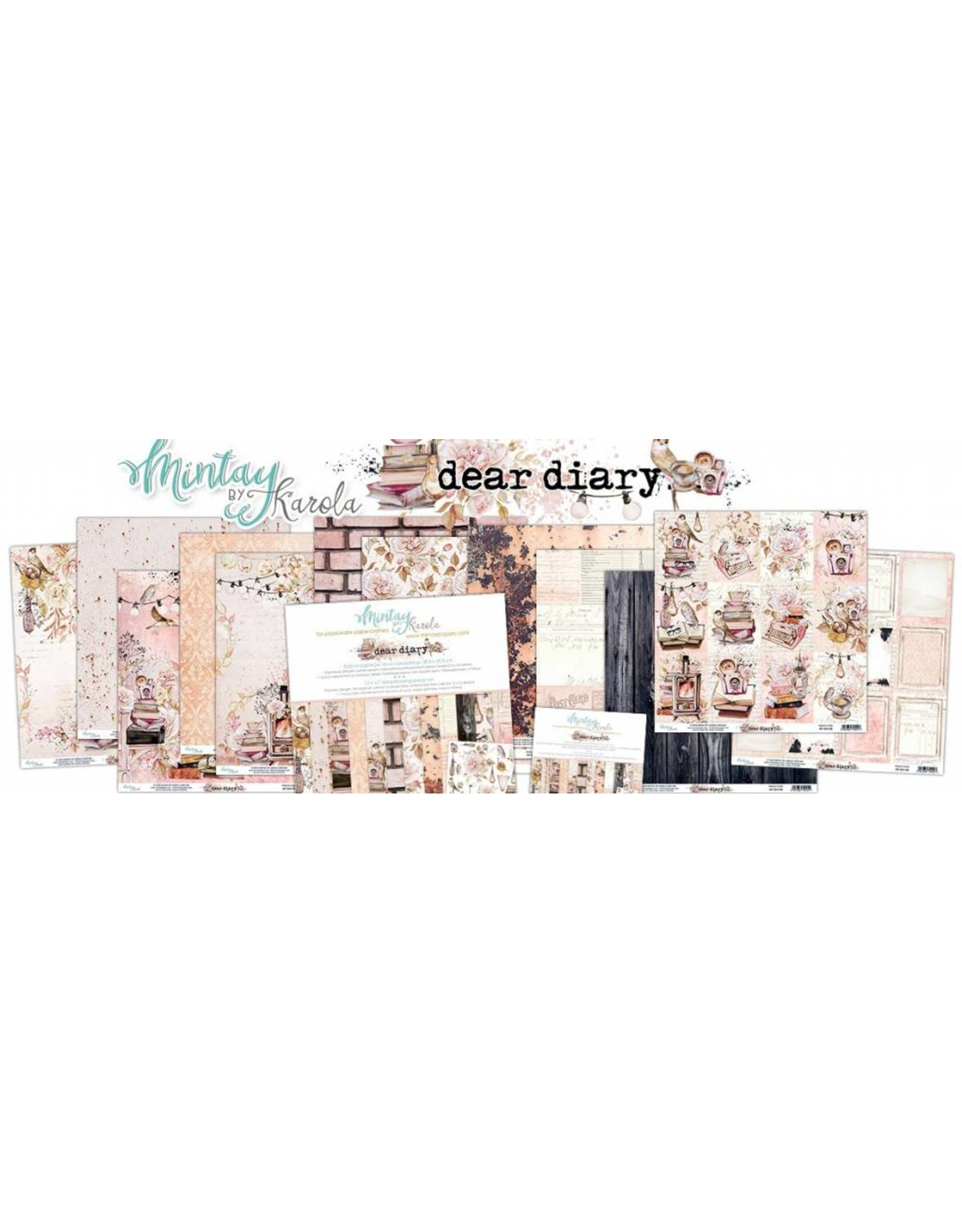 Mintay by Karola Mintay By Karola Dear Diary 30,5 x 30.5