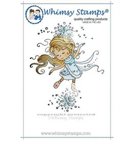 Wimsy Stamps Whimsy Stamps Snowflake Dancer SZWS173