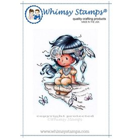 Whimsy Stamps Whimsy Stamps Wyanet (Beautiful)  SZWS153