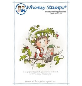 Whimsy Stamps Whimsy Stamps Oak Tree Boy SZWS167