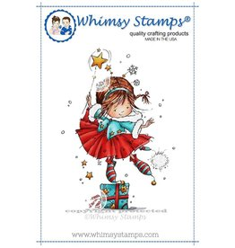 Whimsy Stamps Ruby's Christmas Wish MF121
