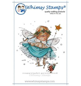 Whimsy Stamps Elsa the Fairy MF120