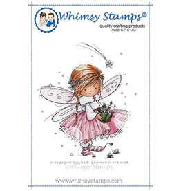 Whimsy Stamps Anna the Fairy MF119