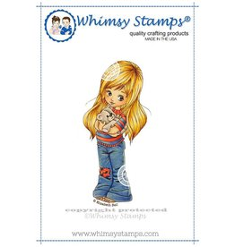Wimsy Stamps Whimsy Stamps Teddy Bear Hugs EBSE102