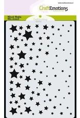 Craft Emotions CraftEmotions Mask stencil sterrenhemel A6 A6