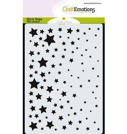 CraftEmotions Mask stencil sterrenhemel A6 A6