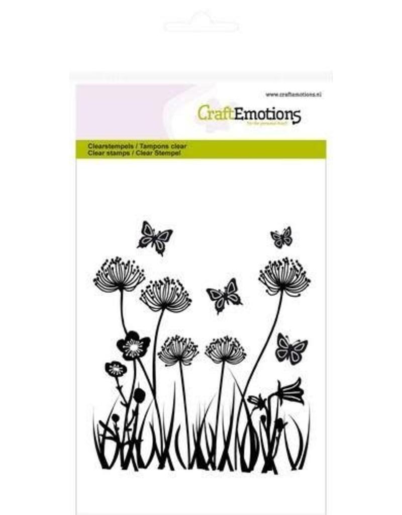 Craft Emotions CraftEmotions clearstamps A6 - veldbloemen