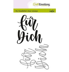 Craft Emotions CraftEmotions clearstamps A6 - handletter - für Dich (DE)