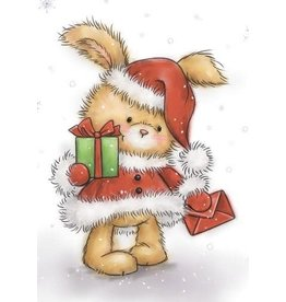 Wild Rose Clear Stamps Wild Rose Studio`s A7 stamp set Christmas Bunny CL511