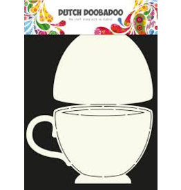 Dutch Doobadoo Card Art Tea Cup A4 470.713.622