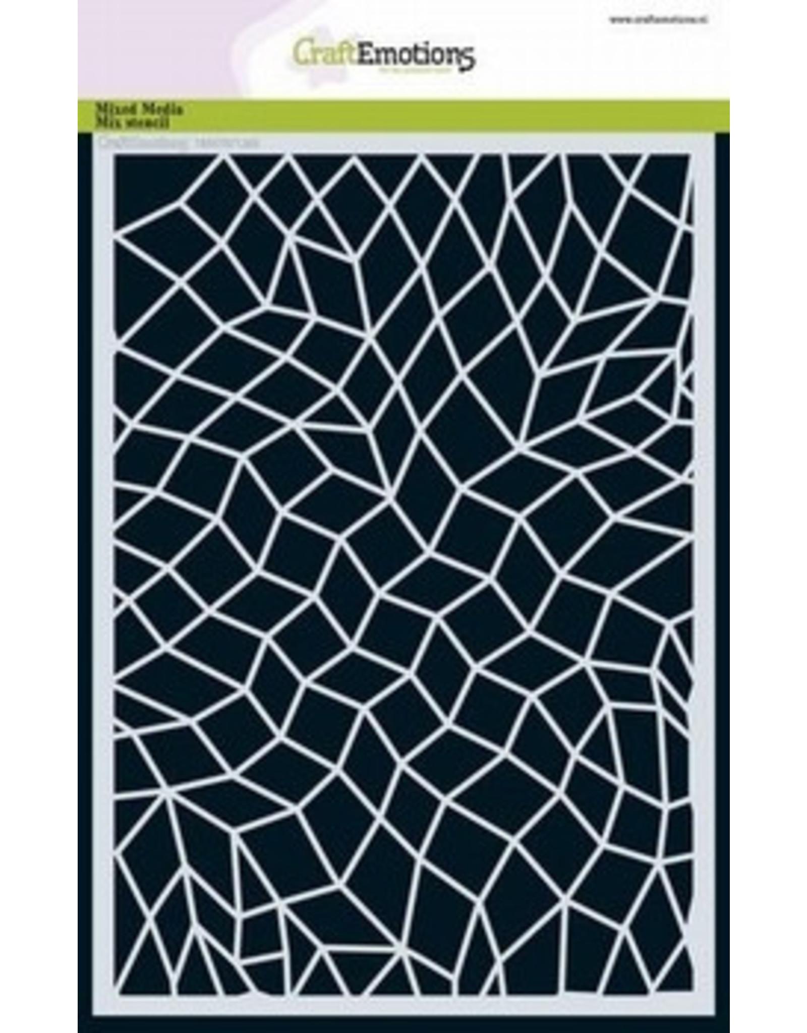 Craft Emotions Craftemotions Mask Stencil Mozaik 185070/1263