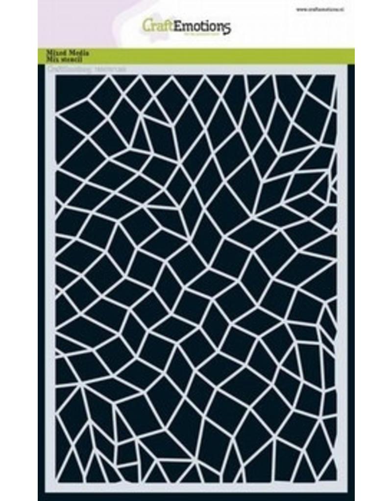 Craftemotions Mask Stencil Mozaik 185070/1263