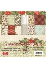 Craft & You Craft&You North Pole BIG Paper Set 12x12 12 vel CPS-NP30
