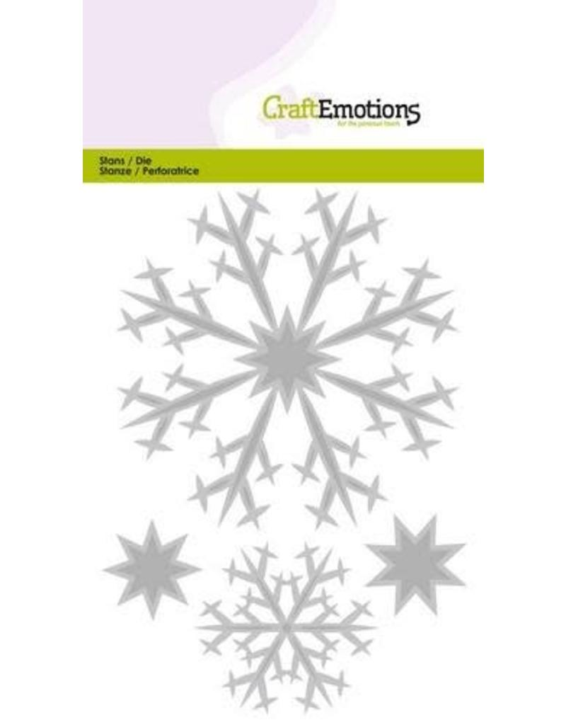 CraftEmotions Die - kristallen groot Card 10,5x14,8cm