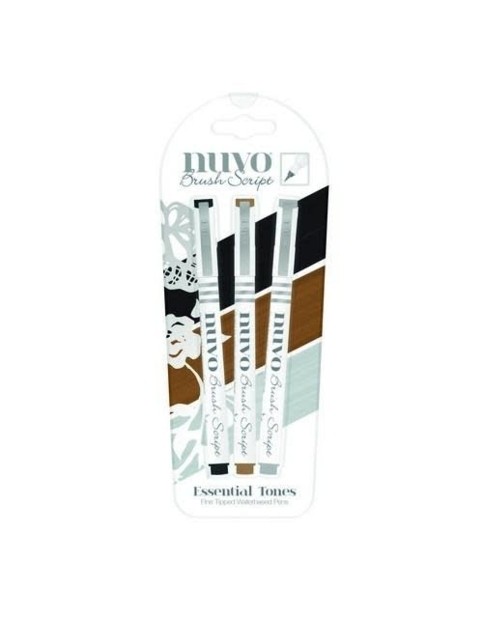 Nuvo by tonic Nuvo brush script pens - essential tones 110N