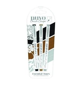 Nuvo brush script pens - essential tones 110N