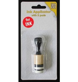 Nellie's Choice Nellie`s Choice Mini ink applicator met 2 pads IAP005 diam. 2cm