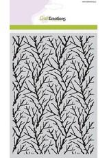 CraftEmotions Mask stencil Winter Woods - Takken A5