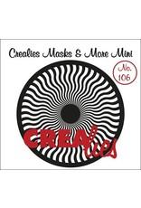 Crealies Mask Stencil Zonnestralen Golf CLMMM106