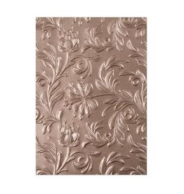 Sizzix embossings folder Sizzix 3-D Embossing Folder - Leaf 662716 Tim Holtz