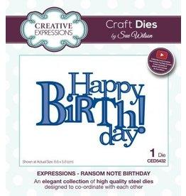 Creative Expressions Creative Expressions Ransom Note Birthday 5432