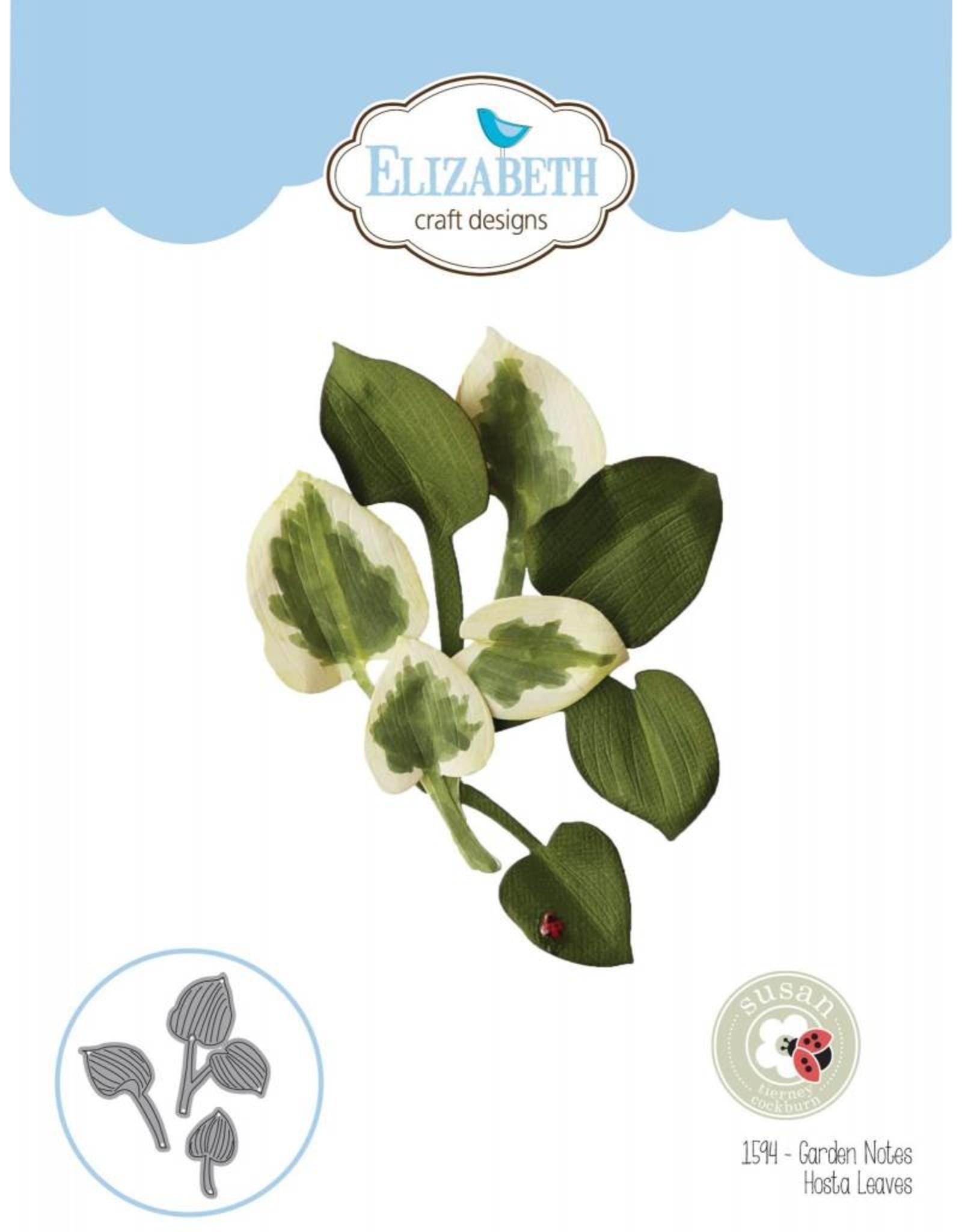 Elizabeth Craft Designs Elizabeth Craft Designs Garden Notes - Hosta Leaves 1594