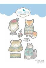 Elizabeth Craft Designs Elizabeth Craft Designs Winter Animals die set 1580