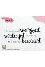 Nellie's Choice Nellies Choice Clearstempel Sentiments - Er is niets wat (NL) SENC007