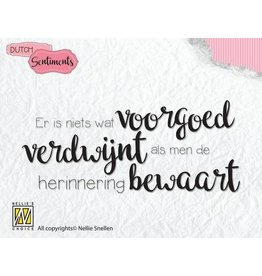 Nellie's Choice Nellies Choice Clearstempel Sentiments - Er is niets wat (NL) SENC007