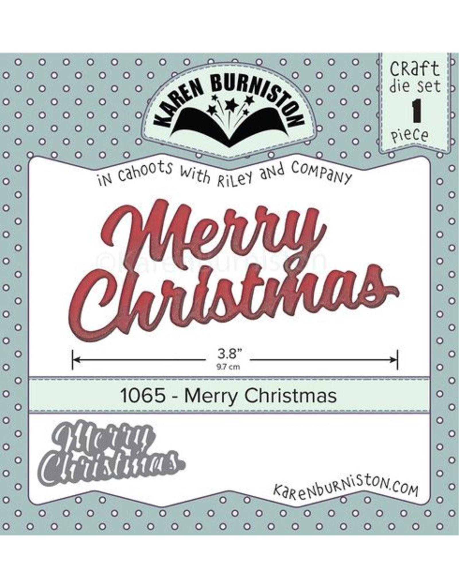 Karen Burniston Karen Burniston Merry Christmas 1065