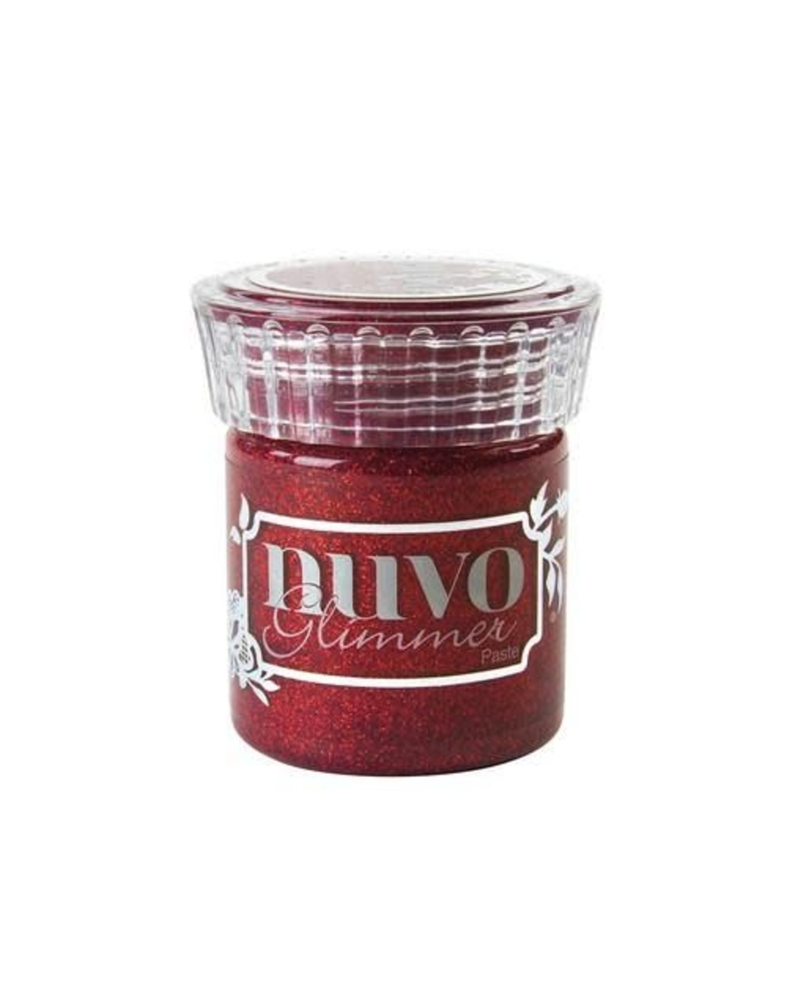 Nuvo Glitter Nuvo glimmer paste - garnet red 954N