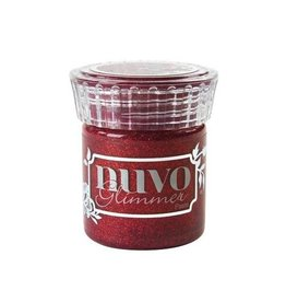 Nuvo Glitter Nuvo glimmer paste - garnet red 954N