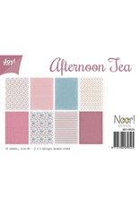 Joy Noor papierset Joy Crafts Papierset A4 Afternoon tea 6011/0535