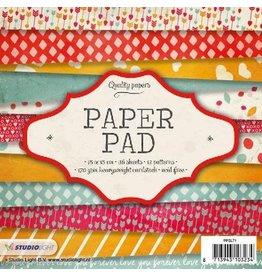 Studio Light Paper pad 36 vel 12 designs nr 71 PPSL71 15x15 cm