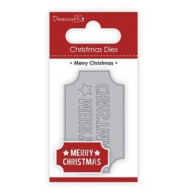 Dove Craft Dovecraft Christmas Die Merry Christmas (DCDIE105X17)