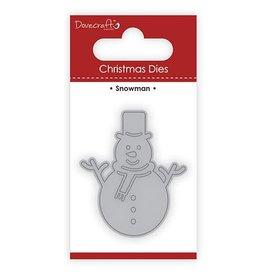 Dove Craft Dovecraft Christmas Die Snowman (DCDIE102X17)