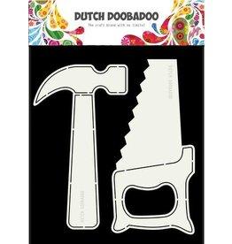 Dutch Doobadoo Card Art Dutch Doobadoo Dutch Card Tools hamer en zaag 470.713.689 A5
