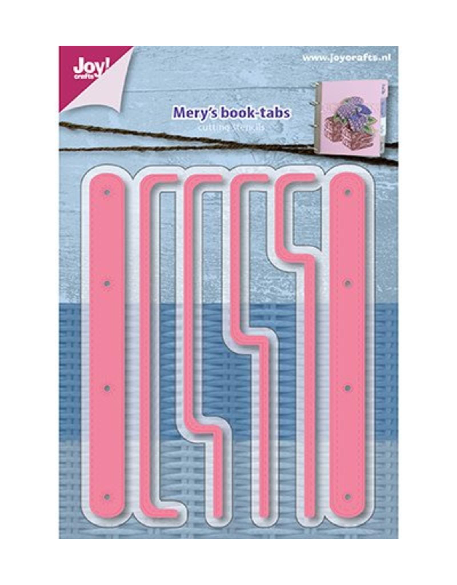 Joy Craft Joy Crafts Snijstencils – Mery s Tabbladenboekje 6002/1161