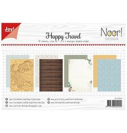 Joy Noor papierset Joy Crafts Papierset - Happy Travel 6011/0593