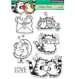penny black Penny Black clear stamps Critter love 30-331
