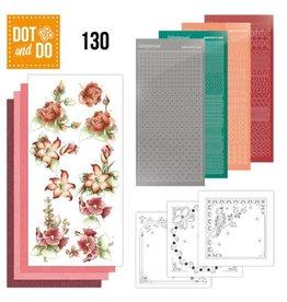Dot and Do 130 - Precious Marieke - Timeless Red Flowers  DODO130