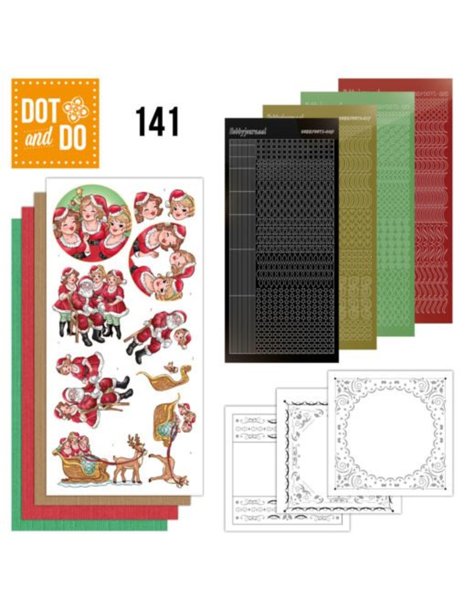 Dot & Do 141 Bubbly Girls Xmas DODO141
