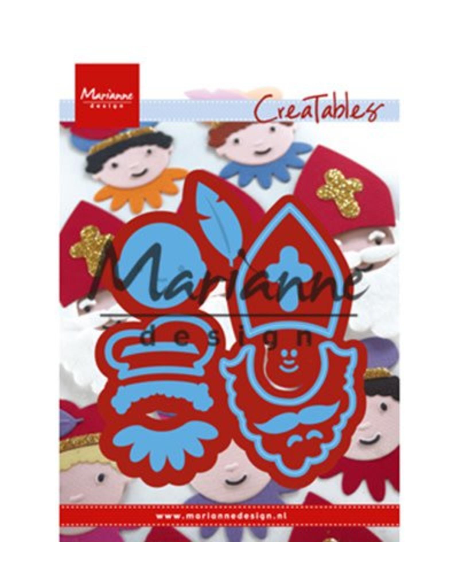 Marianne D Creatable Sinterklaas & Pieterbaas (NL) LR0565