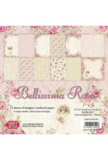 Craft&You Bellissima Rosa Big Paper Set 12x12 12 vel