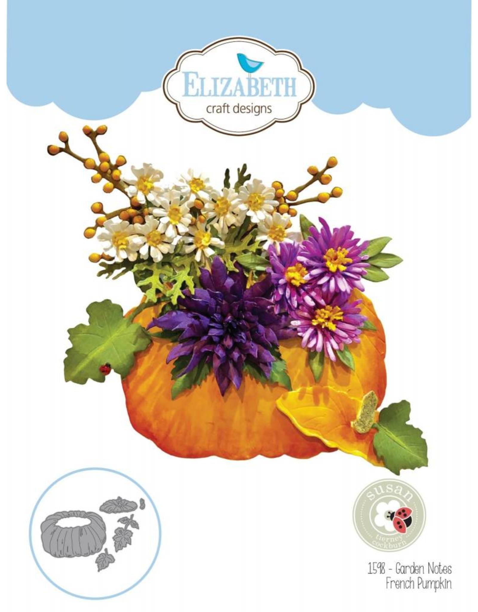 Elizabeth Craft Designs Elizabeth Craft Designs Garden Notes - French Pumpkin  1598