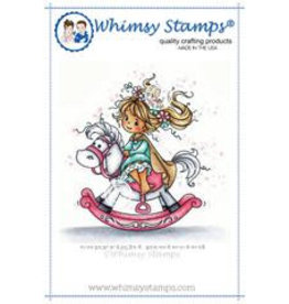 Wimsy Stamps Whimsy Stamps Princess Rubber Cling Stamp SZWS197