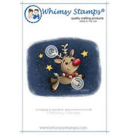 Wimsy Stamps Whimsy Stamps Reindeer Magic KHB121