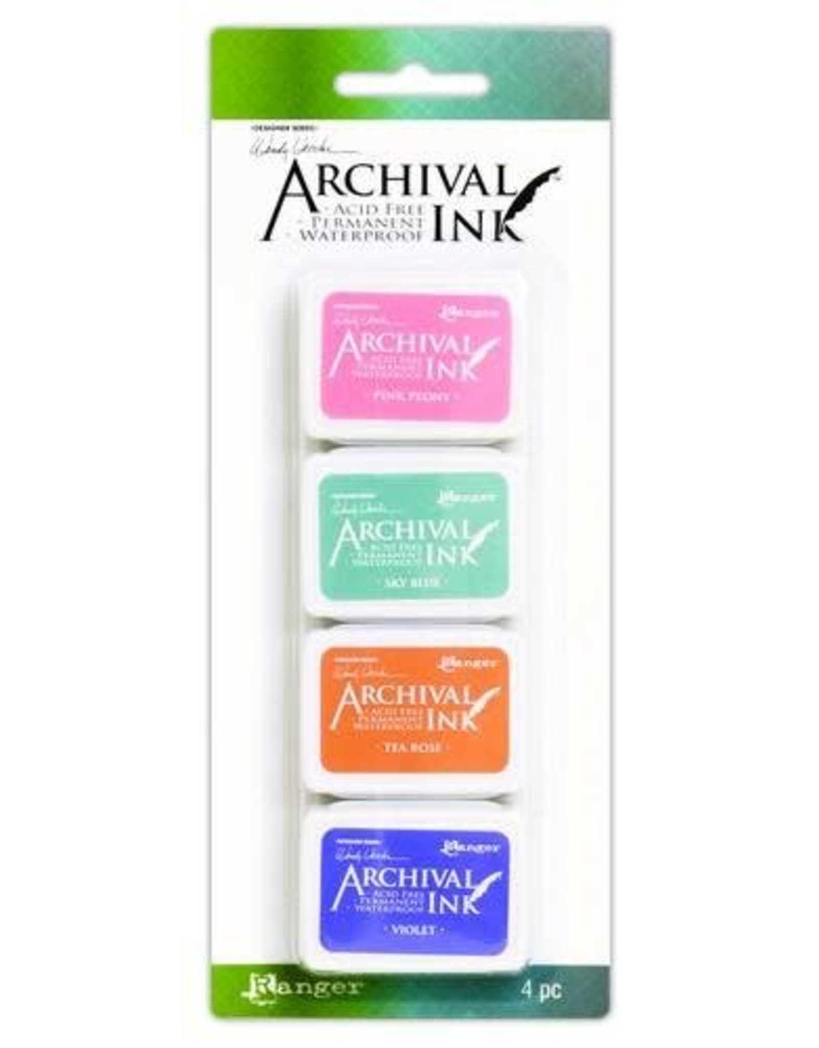 Archival Ranger Archival Mini Ink Kit 3 AMDK58953 Wendy Vecchi